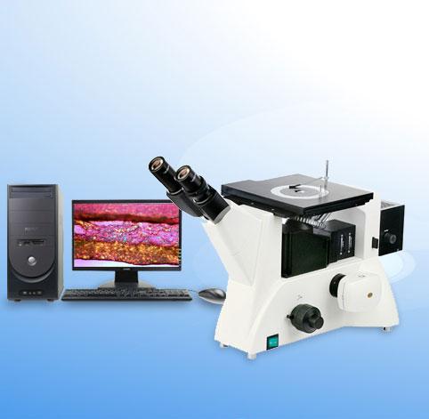 倒置金相显微镜(明暗场) 11XD-PC
